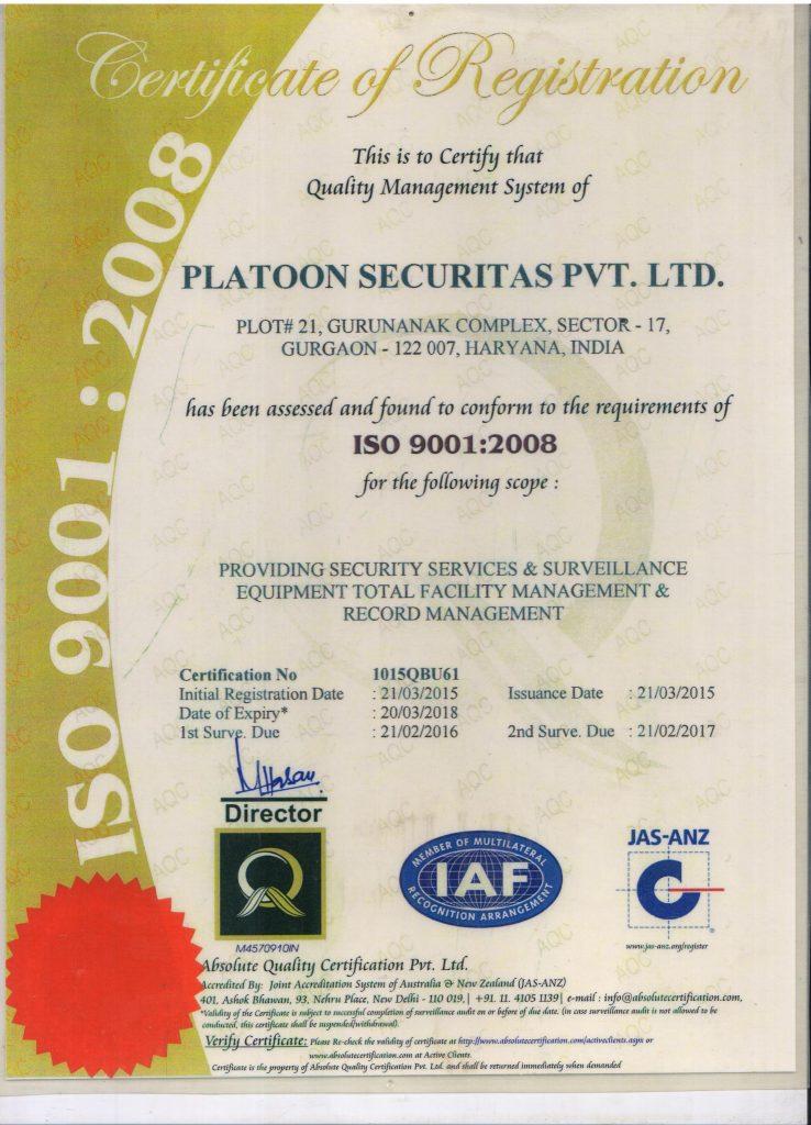 Platoon Securitas Pvt Ltd Second To None